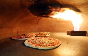 4 Types of Pizza Ovens, Some With Gas Valves, Some With Brick