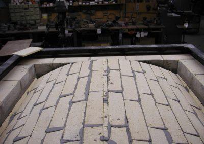 Insulating Fire Brick Sprung Arch TOP