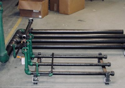 Pipe Burner Package with adjustable height